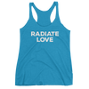 Yoga Women's tank top. RADIATAE LOVE