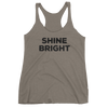 Yoga Women's tank top. SHINE BRIGHT
