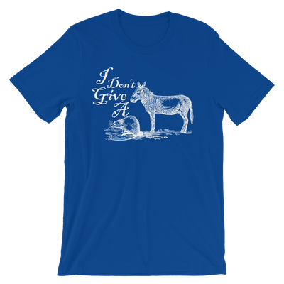 I Don't Give A Rats Ass - 4th of July Unisex Short Sleeve T-Shirt.