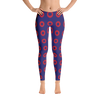 PH Fishman Red Donut Circles Leggings - The original Phishman Leggings