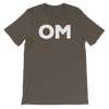 Yoga Unisex short sleeve t-shirt. OM