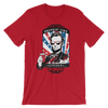 Drinking Like Lincoln - 4th of July Unisex Short Sleeve T-Shirt.
