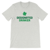 Designated Drinker - Funny St. Patricks Day Short-Sleeve T- Shirt