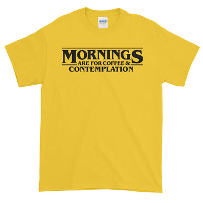 Mornings Are for Coffee and Contemplation Mug - Stranger Things Coffee Cup