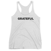 Yoga Women's tank top. GRATEFUL