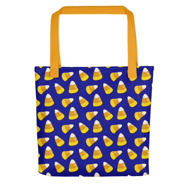 Halloween Candy Corn BLUE Tote bag
