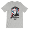 Too Cool For British Rule - 4th of July Unisex Short Sleeve T-Shirt.