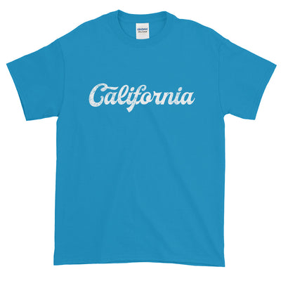 California Distressed Script Short-Sleeve T-Shirt