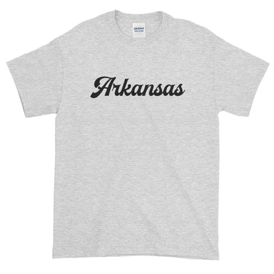 Arkansas Script Distressed Short Sleeve T-Shirt