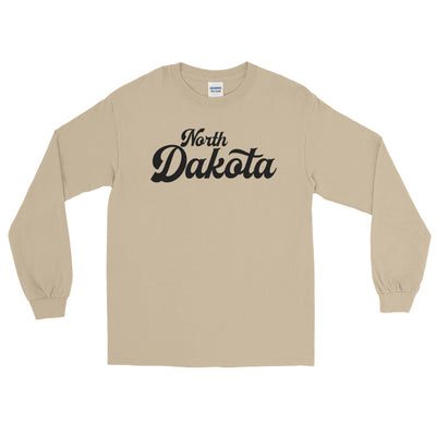 North Dakota Script Long Sleeve T-Shirt