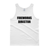 Halloween Fireworks Director 4th of July Tank Top