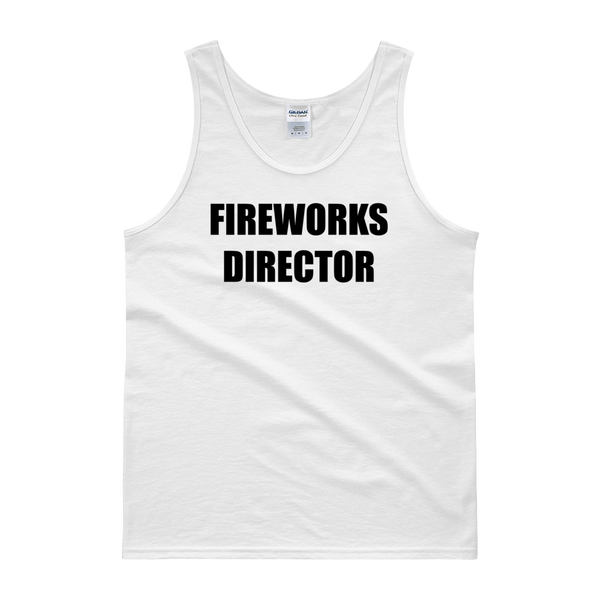 FIreworks Director 4th of July Tank Top