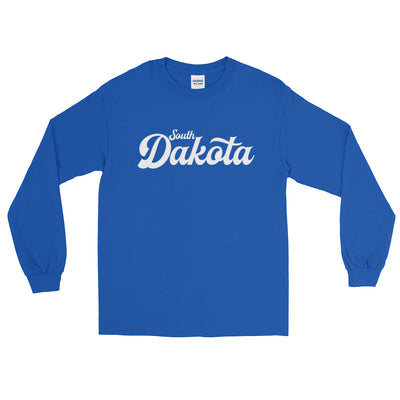 South Dakota Script Long Sleeve T-Shirt