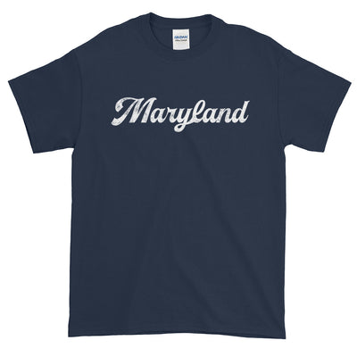 Maryland Distressed Script Short-Sleeve T-Shirt