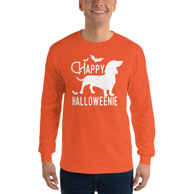 Halloween Happy Halloweenie Long Sleeve T-Shirt
