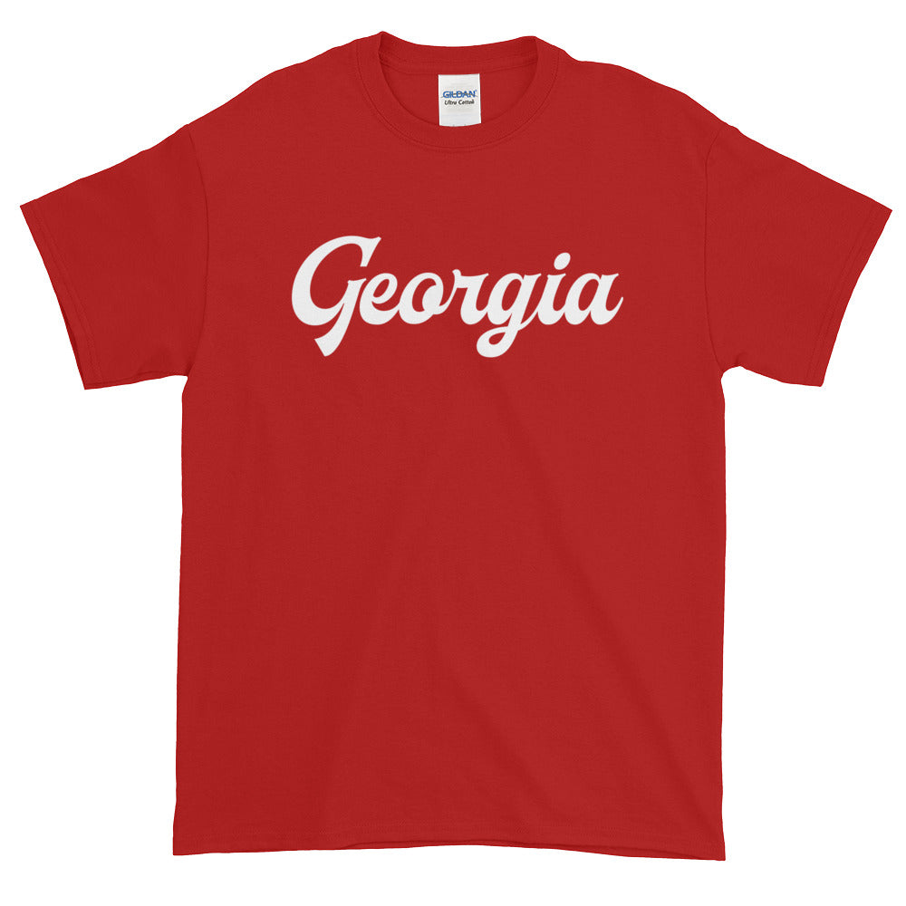 Georgia Stickers. CO State Outline, Georgia State Shape, City, Town Stickers, tshirt, t-shirt, hoodie