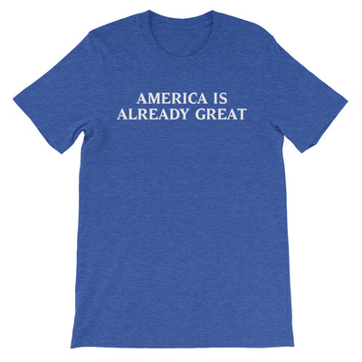 American Is Already Great Halloween Short-Sleeve Unisex T-Shirt