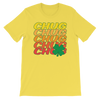 Chug Four Leaf Clover - Funny St. Patricks Day Short-Sleeve T- Shirt