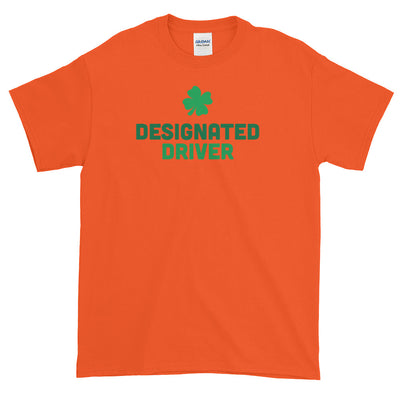 Designated Driver - Funny St. Patricks Day Short-Sleeve T- Shirt