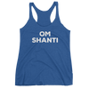 Yoga Women's tank top. OM SHANTI