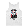 Too Cool For British Rule - 4th of July Unisex Tank Top.