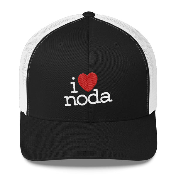I Love NoDa, Charlotte North Carolina, Trucker Cap