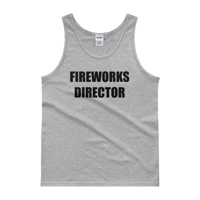 Fireworks Director - 4th of July Unisex Tank Top.