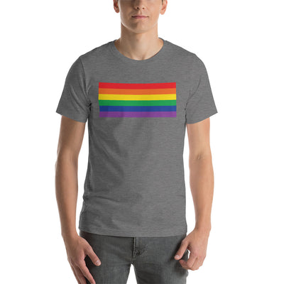 PRIDE, RAINBOW Short-Sleeve Unisex T-Shirt