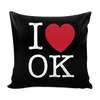 I Love Oklahoma Pillow Case