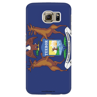 Michigan State Flag Phone Case