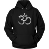 Yoga Om Distressed Symbol
