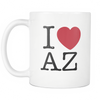 I Love Arizona Mug