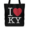 I Love Kentucky Tote Bag