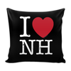 I Love New Hampshire Pillow Case
