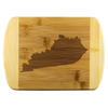 Kentucky State Shape Bamboo Cutting Board