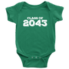 Class of 2043 Baby Onsie