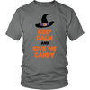 Halloween Keep Calm and Give Me Candy Halloween Unisex Shirt