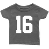 Team Jersey 16 Infant T-Shirt