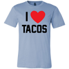 I Love Tacos. Unisex short sleeve t-shirt | Funny Cinco De Mayo Mexico Holiday T-Shirts