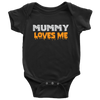 Halloween Mummy Loves Me Baby Halloween Onesie