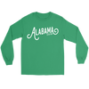 Alabama Script Long Sleeve Tee