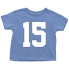 Team Jersey 15 Toddler T-Shirt