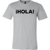 HOLA. Unisex short sleeve t-shirt | Funny Cinco De Mayo Mexico Holiday T-Shirts