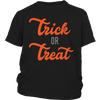 Halloween Trick or Treat Youth Shirt
