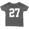 Team Jersey 27 Infant T-Shirt
