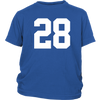 Team Jersey 28 Youth T-Shirt