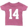 Team Jersey 14 Toddler T-Shirt