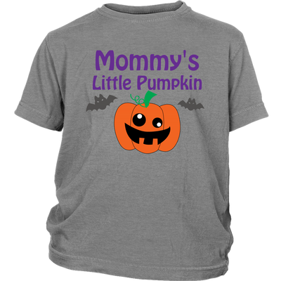Halloween Mommy's Little Pumpkin Youth Shirt