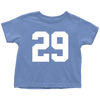 Team Jersey 29 Toddler T-Shirt