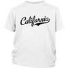 California Script Font Youth T-Shirt
